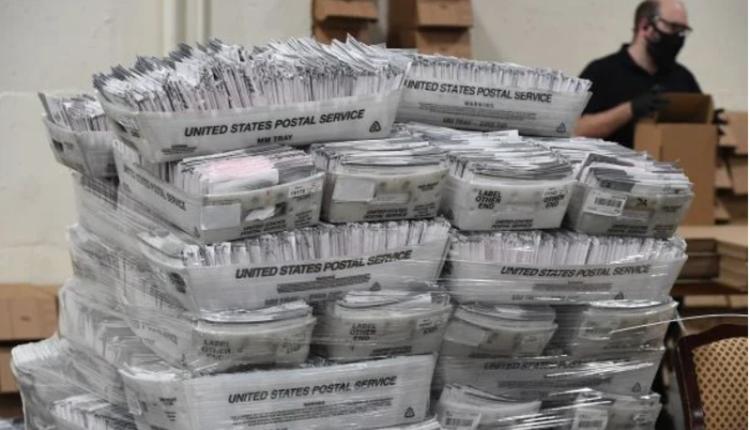 加利福尼亚州洛杉矶邮寄投票处理中心