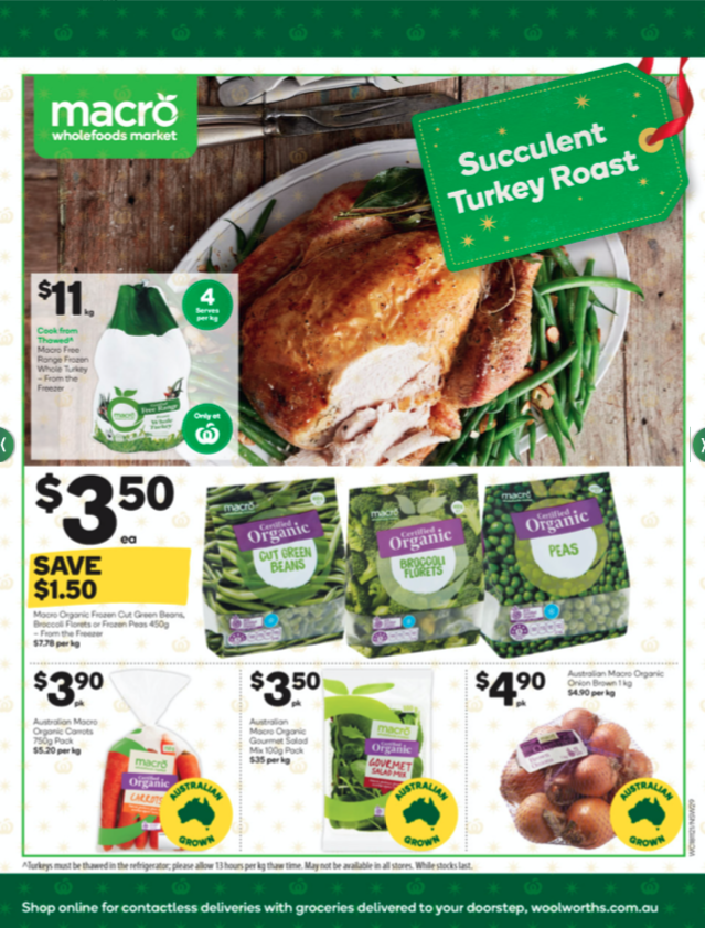 Woolworths11月18日至24日优惠全目录