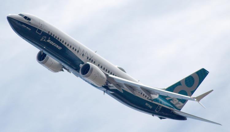美国波音737 MAX客机