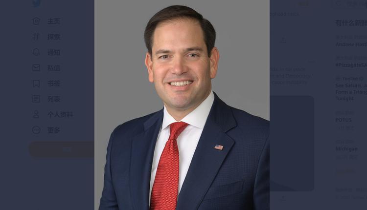 美国资深参议员马可·卢比奥(Marco Rubio)