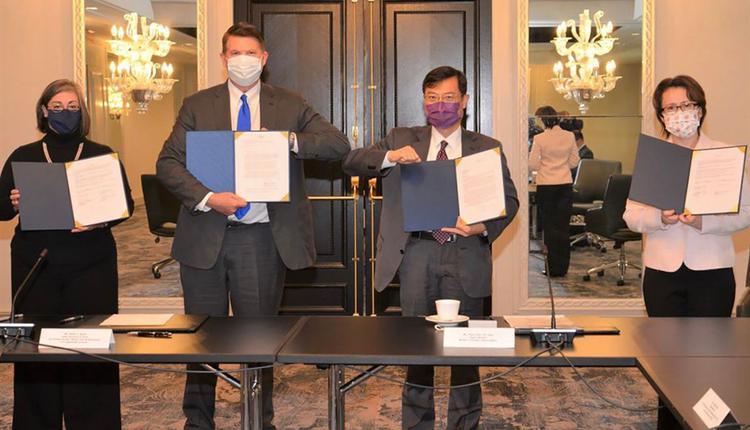 台美经济繁荣伙伴对话落幕双方签署5年备忘录、