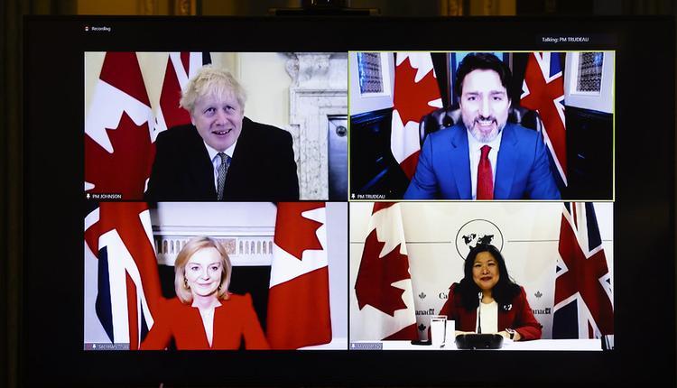 英国, 加拿大, 贸易协议