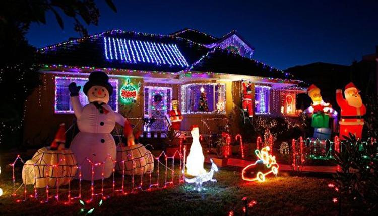Invanhoe 圣诞街灯