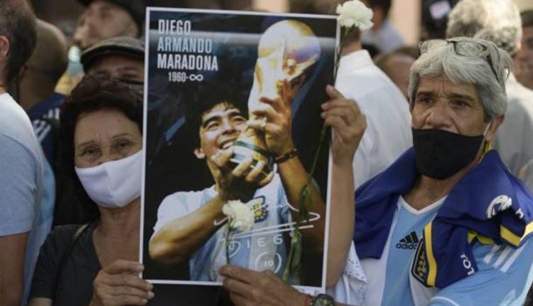 向阿根廷足球传奇马拉度纳(Diego Maradona)