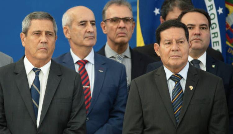 巴西副总统莫劳(Hamilton Mourão)