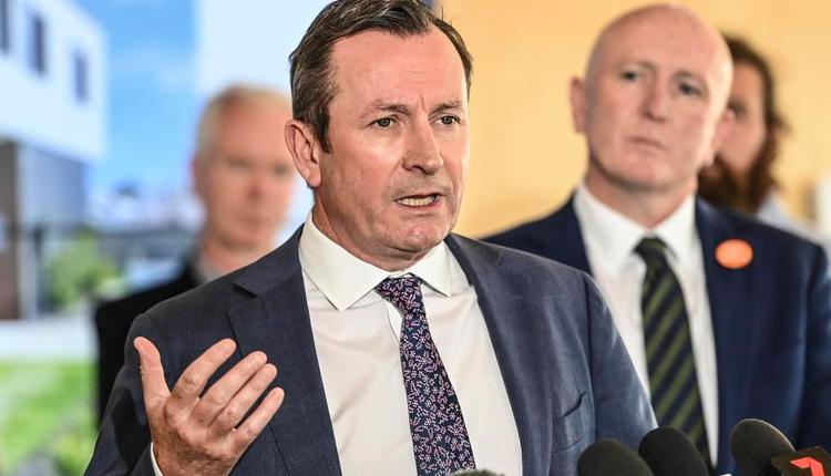 西澳州长Mark McGowan