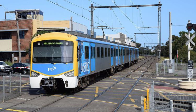 墨尔本的火车