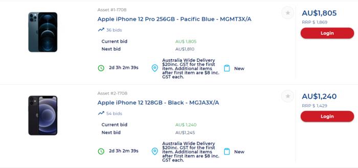 太平洋蓝色的iPhone 12 Pro 256g