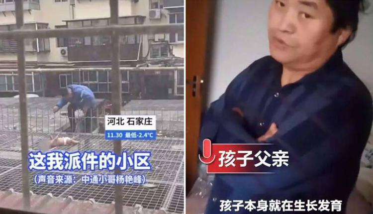 女婴坠楼受伤父亲拒绝治疗