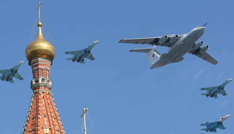 俄罗斯Il-80飞机和MiG-29战斗机