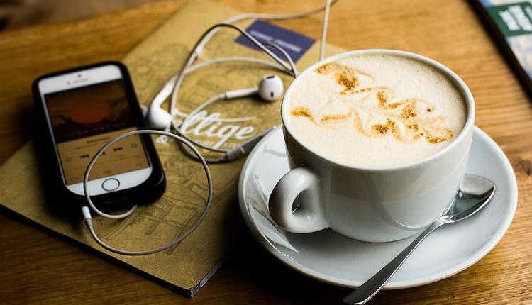 咖啡 工作 白领