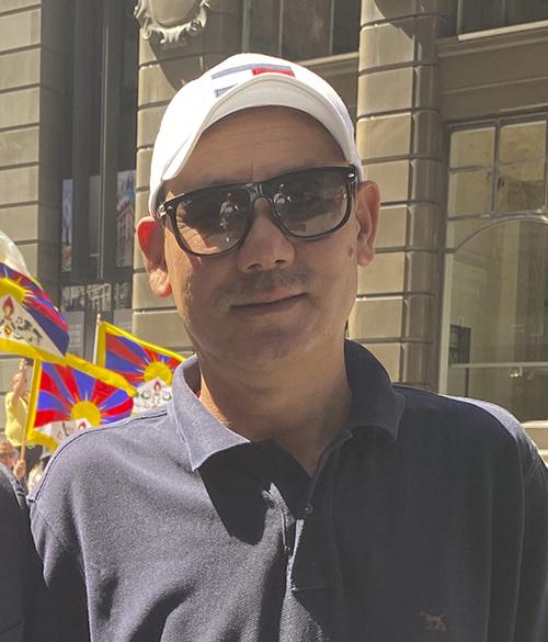 西藏流亡政府澳洲代表格桑堅參