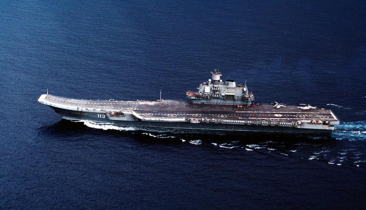 俄罗斯的库兹涅佐夫号航空母舰