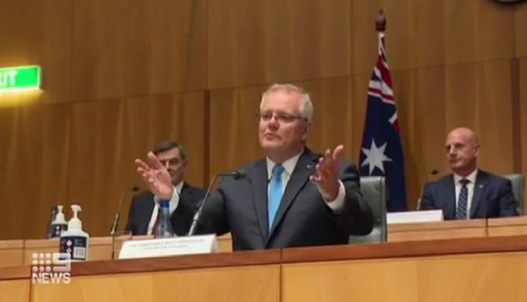 澳洲总理莫里森,内阁会议