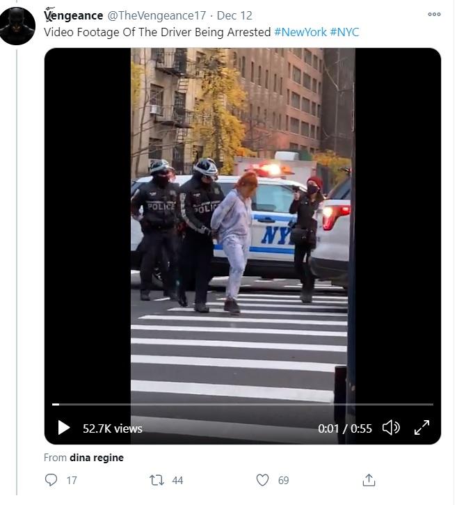 寶馬汽車司機被捕