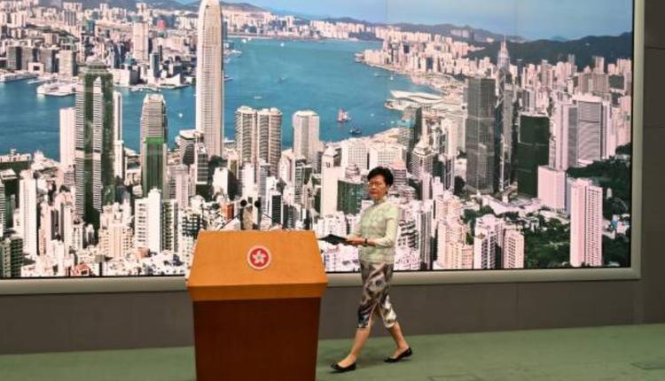 香港特首林郑月娥