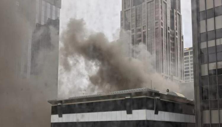 墨尔本CBD高层建筑七小时内突发两场火灾