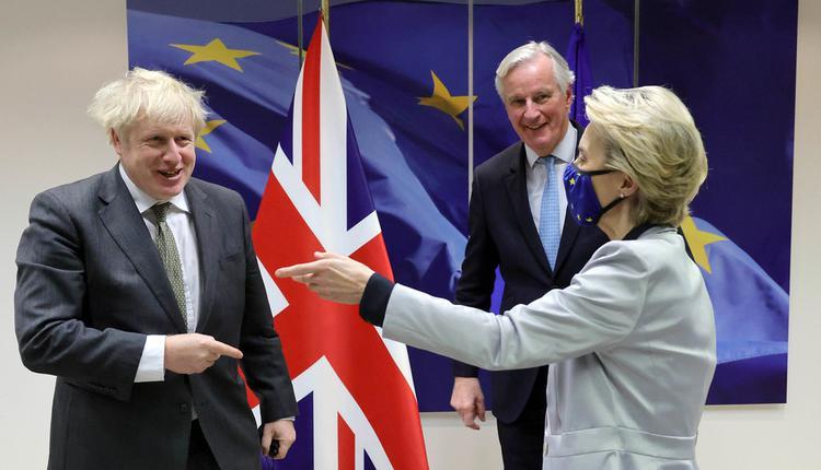 脱欧谈判, 英国首相, 欧盟主席, 欧盟谈判代表