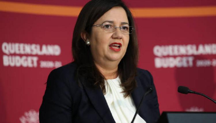 昆州州长Annastacia Palaszczuk