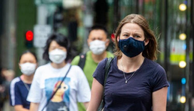 悉尼民众,悉尼疫情,戴口罩