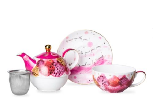 T2 Tea,茶具,茶杯,茶壶
