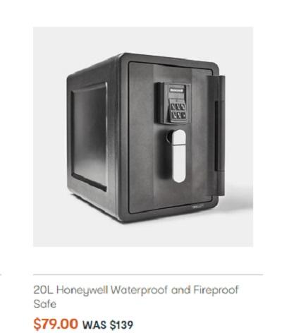 防水防火保险箱