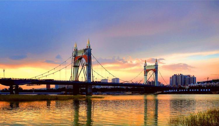 陕西宝鸡联盟大桥