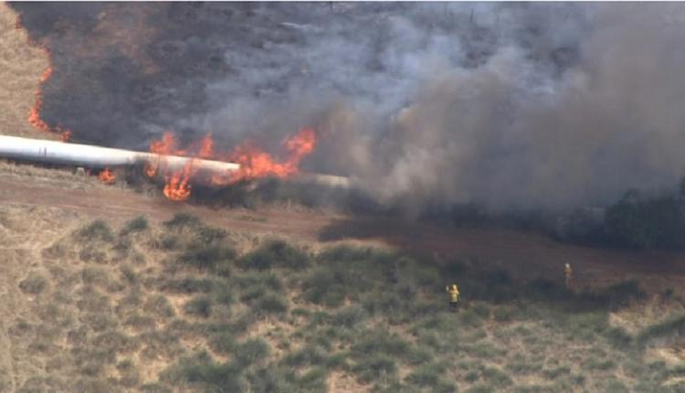 珀斯南部的山林大火