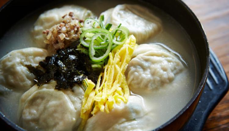 韩国饺子汤