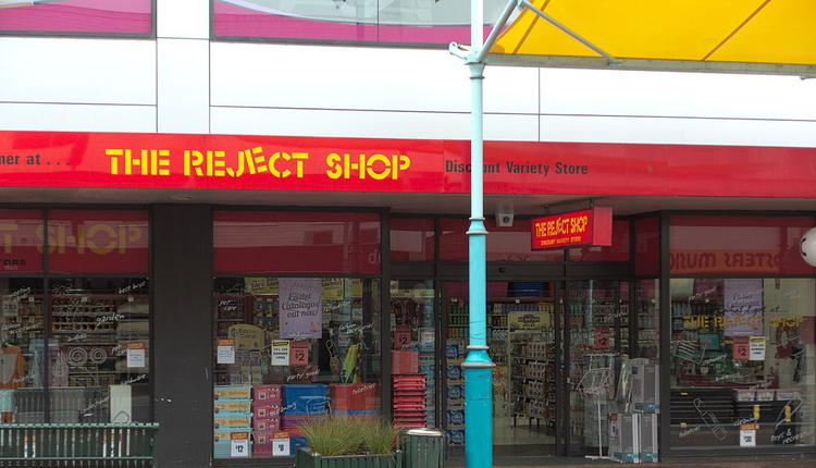 The Reject Shop门店