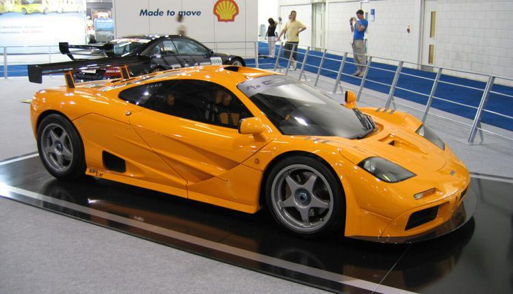 麦克拉伦一级方程式XP-LM赛车