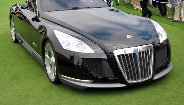 加州圆石滩汽车展上的迈巴赫Exelero