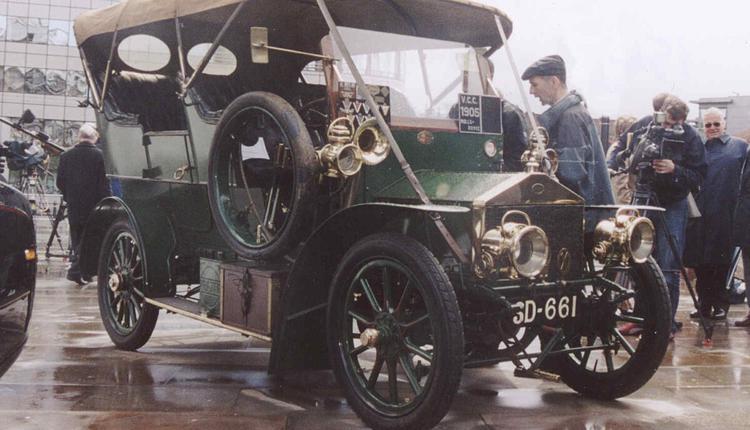 1905年产的Rolls-Royce 15hp