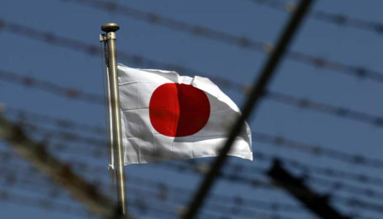 日本国旗。