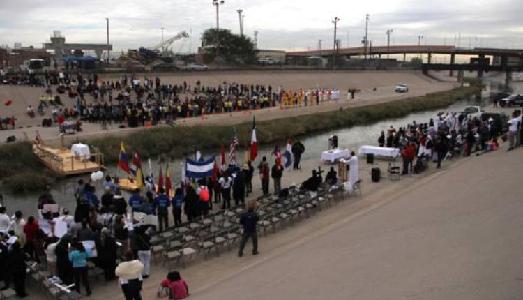 美墨边境地非法移民