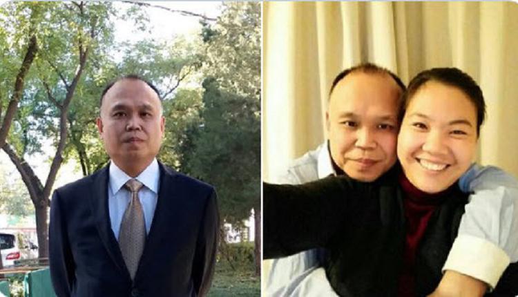 维权律师余文生被捕3年 首次与妻视频会面