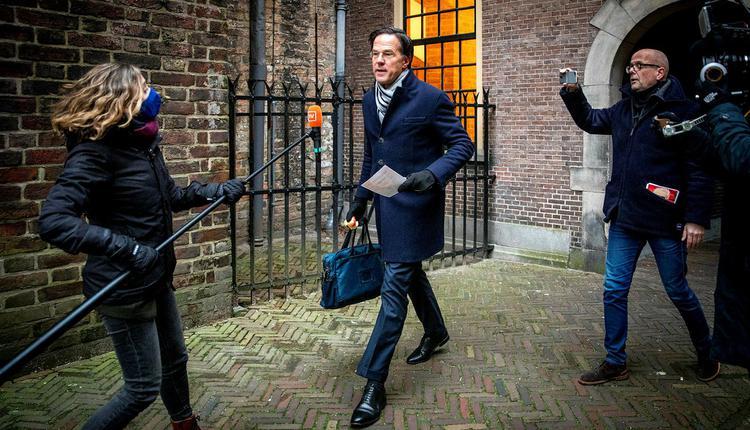 荷兰首相吕特(Mark Rutte)