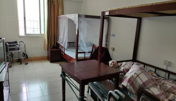 普通民办养老院住宿环境(图片拍摄:蓝字计划)