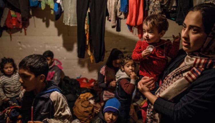 欧盟边境难民