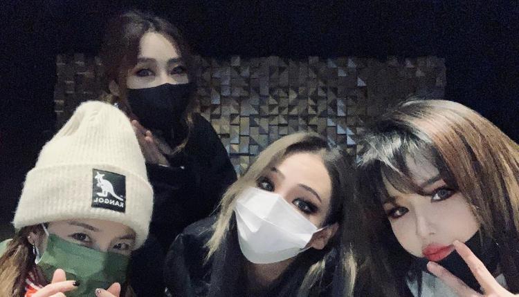 韩国女团2NE1