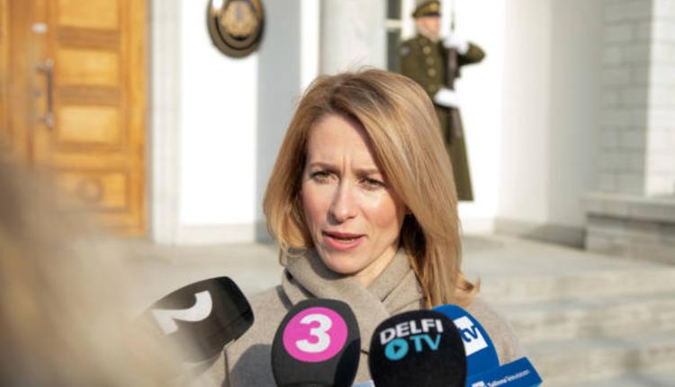 爱沙尼亚的改革党党主席卡拉斯