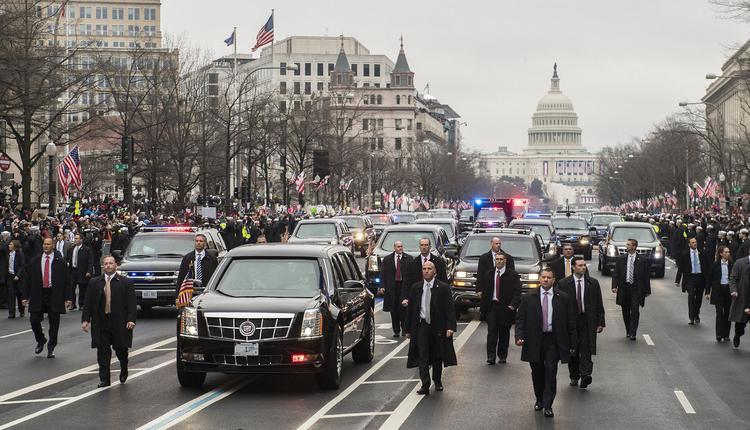 美国总统就职游行