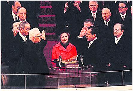 尼克松就职大典