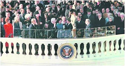 卡特总统就职大典