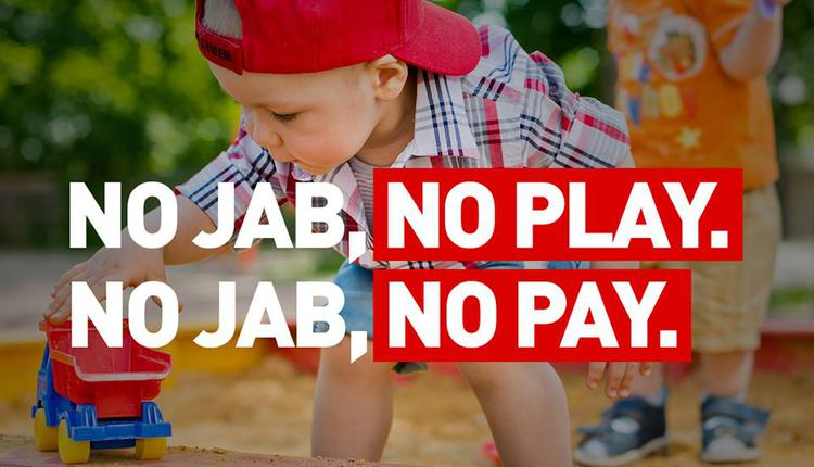 No Jab, No pay