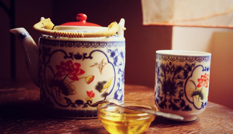 中醫,蜜茶,茶