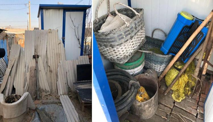 农村改建厕所