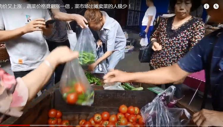 春节将近 菜价飙升 民众大叫吃不起