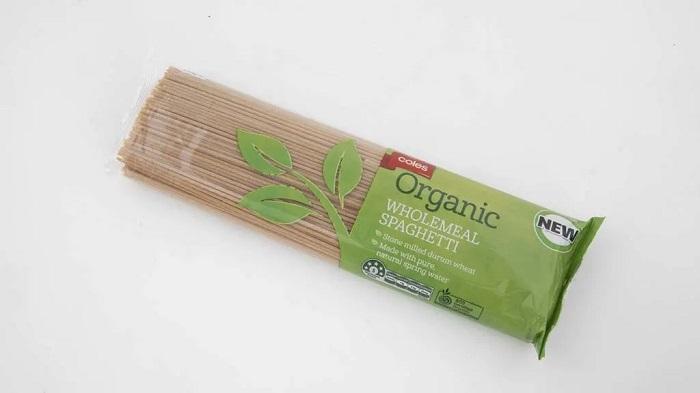 Coles Organic Wholemeal Spaghetti