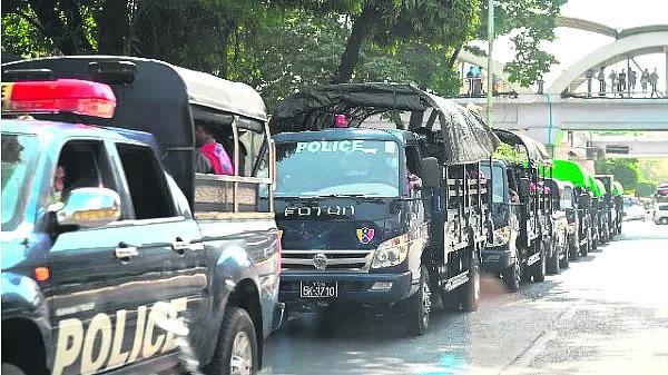 缅甸进入紧急状态